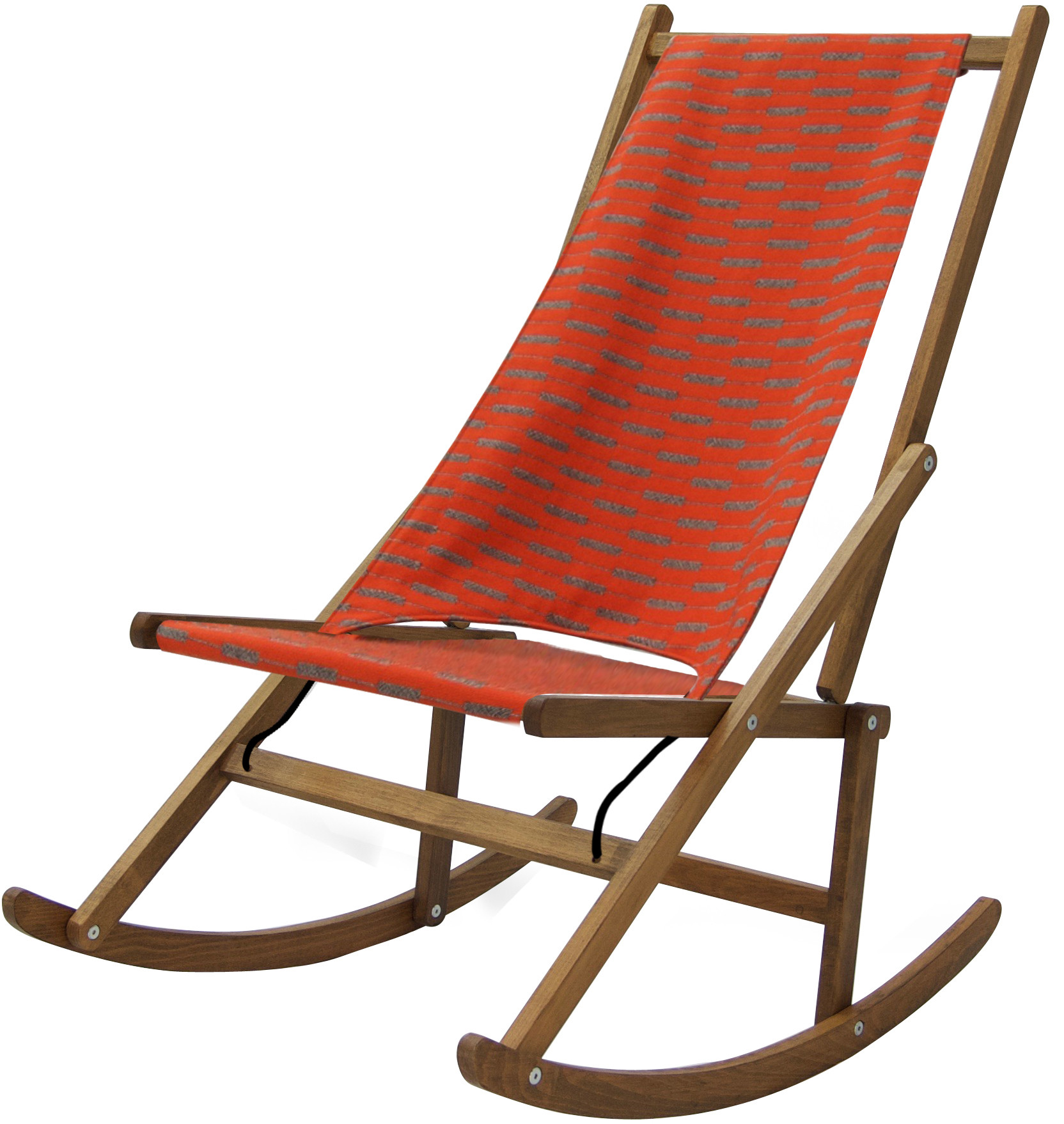 Folding Rocking Deck Chair WAWA