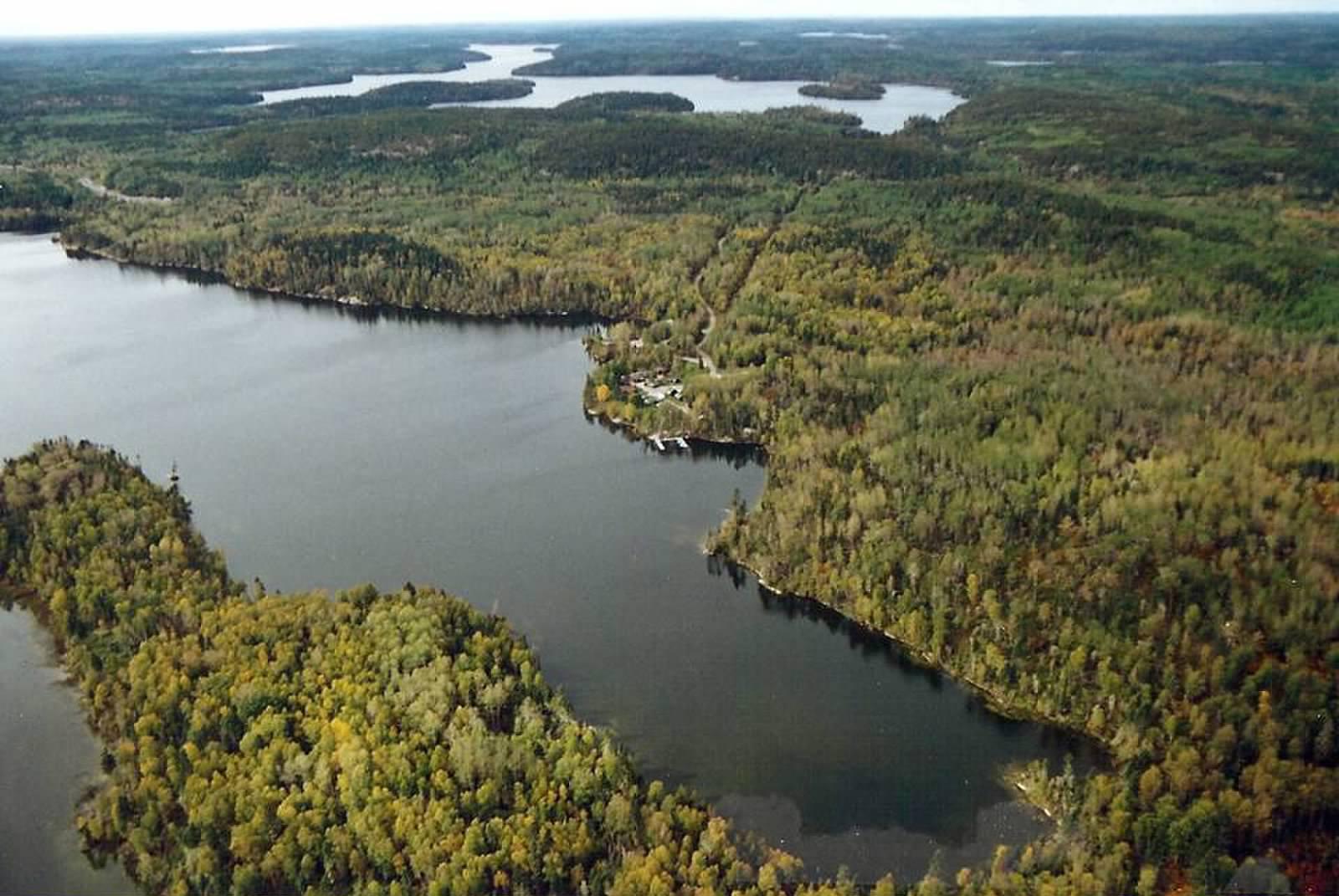 Fishing and hunting cedar lake camp 16 mile horseshoe for L shaped lake