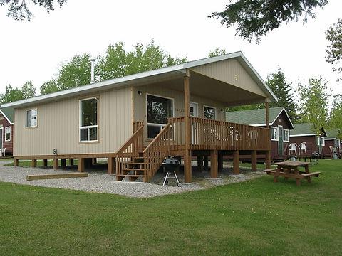 ontario fishing cabin