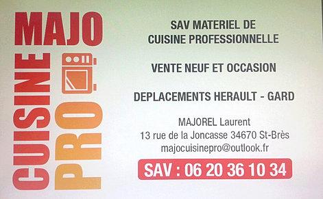 D pannage cuisine professionnelles h rault for Equipement de cuisine commercial