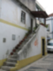 Casa na Travessa do Espírito Santo n.o 6. © Nuno Rocha, 2006. Arquivo O Riomaiorense.
