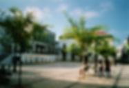 Praça do Comércio, Anos 90. © Nuno Rocha, 1997. Arquivo O Riomaiorense.