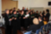 Assinatura do protocolo de criação do Clube UNESCO para o Património Cultural, em Rio Maior. Actuação do Grupo Coral CantoRio. Rio Maior, 23 de Novembro de 2019. © Paulo Araújo, Comércio & Notícias.