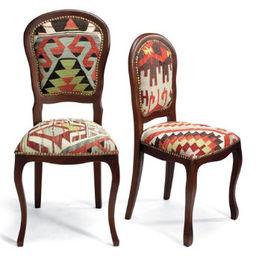 Kilim Furniture $798.00; Kilim Chairs Two