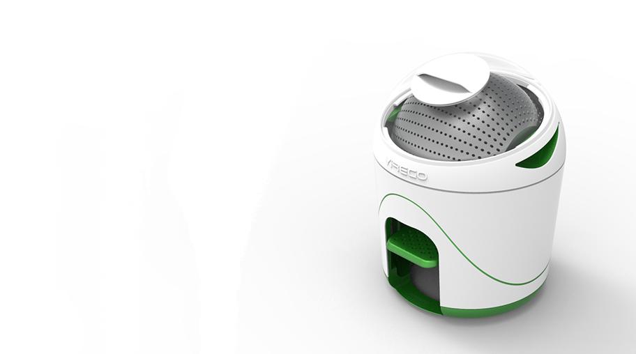 Une machine à laver portable sans fil
