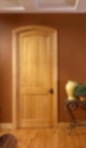 Maple Door with Grooves