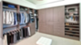 Organized Living Closet System