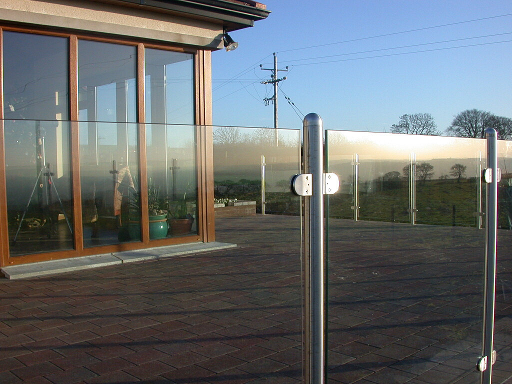 M Glass Balustrade
