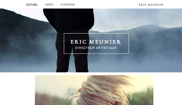 templates de sites html pour portfolio et cv