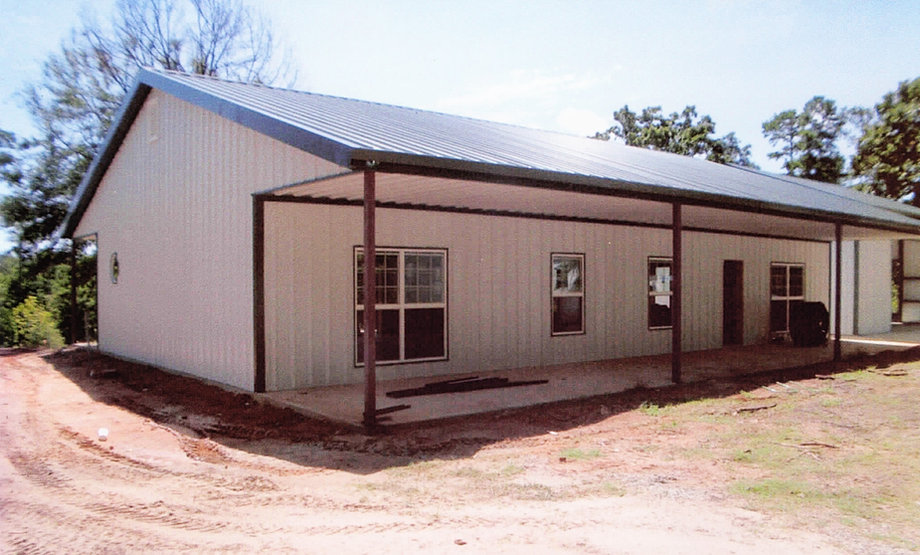 Couch construction co llc steel metal buildings east for Metal houses texas