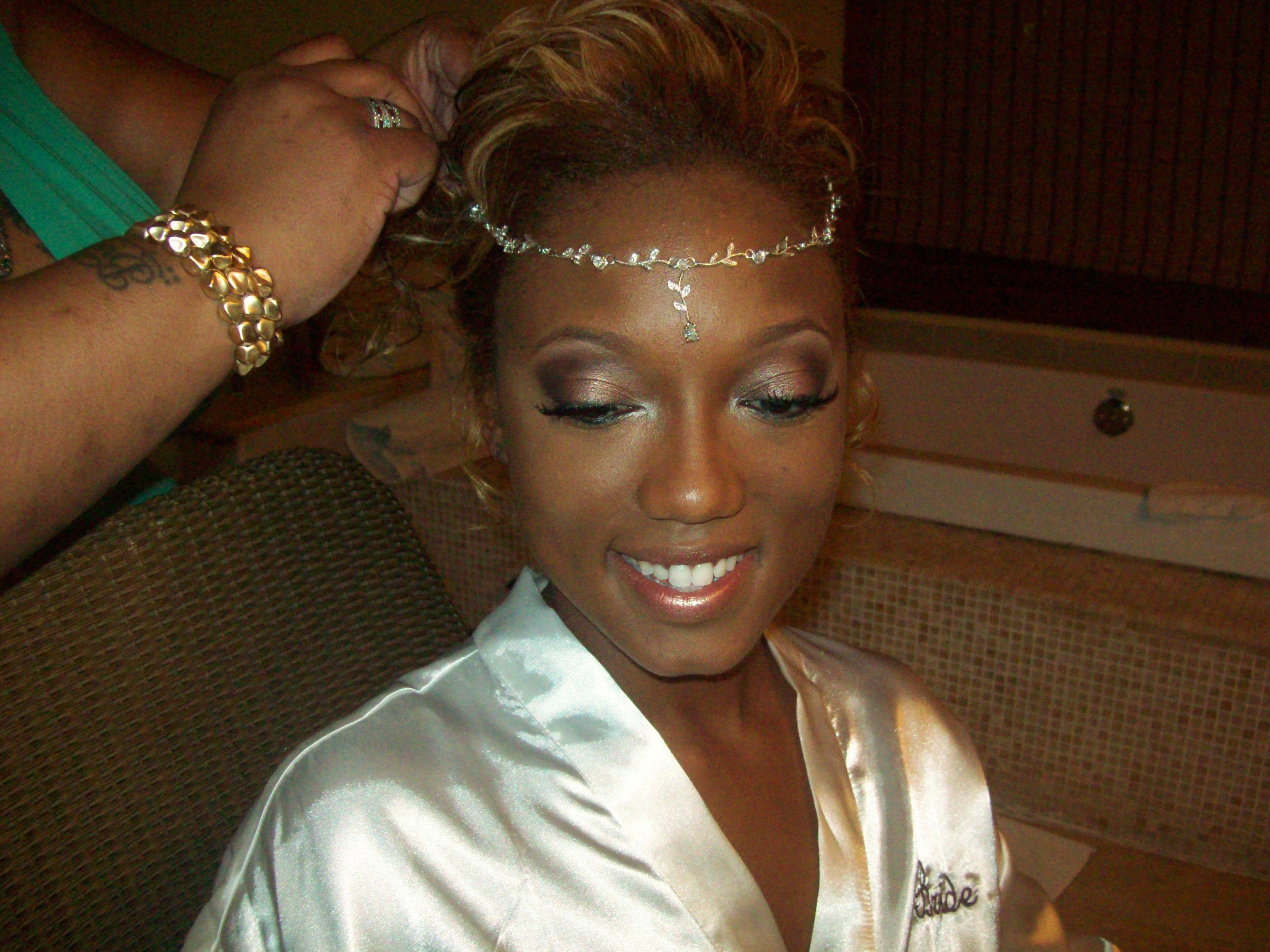 Destination Wedding Makeup Artist : Jamaican Makeup Artist Bride Kendra