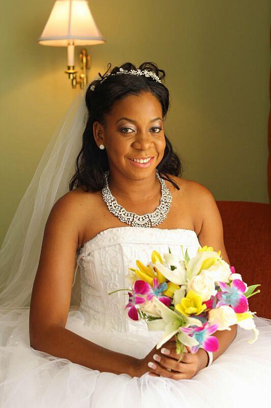 Destination Wedding Makeup Artist : Jamaican Bridal/Wedding Makeup Artist Bridal Makeup