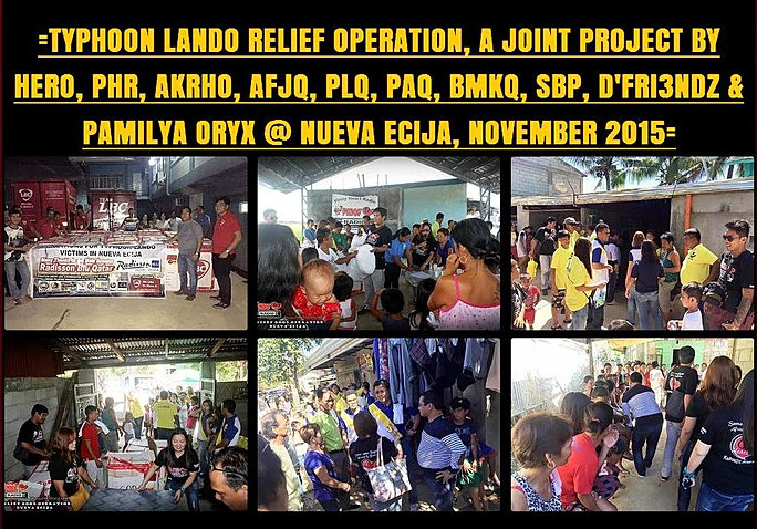 16 Joint Project Typhoon Lando Nueva Ecija 2015