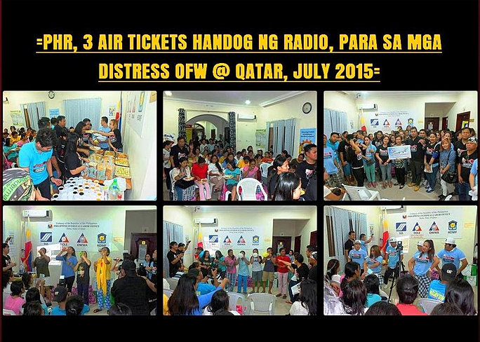 13 Handog ng Radio 3 Air Tickets 2015