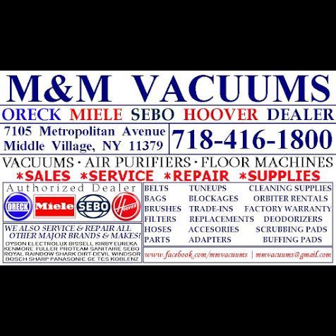 M Amp M Vacuums Oreck Miele Sebo Hoover Dyson Dealer