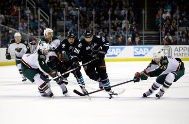 Sharks vs. Minnesota Wild