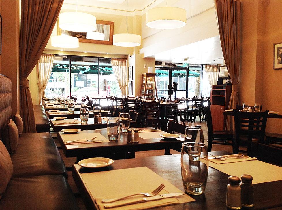 Ristorante fratelli milano italian restaurant miami for Ristorante australiano milano