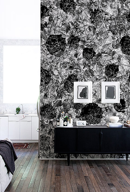 Walls By Design upholstered walls by design services of charlotte Wallpaper Black Roses Walls By Peeters Bypeeterscom