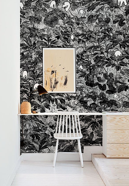 Walls By Design stunning feature walls by designer justine knox interior design mallorca Wallpaper Shades Of Darkness Walls By Peeters Bypeeterscom