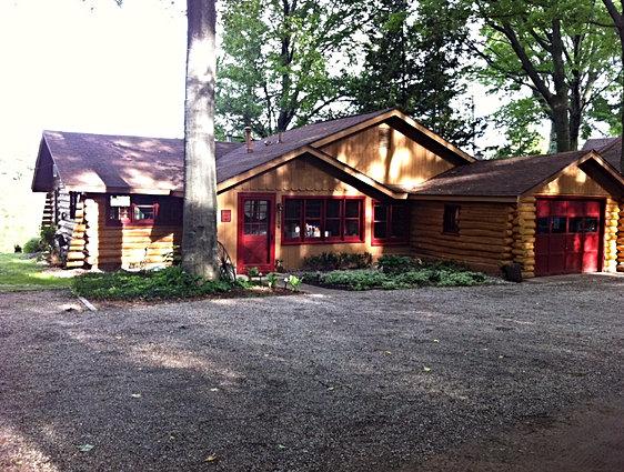 Traverse City Log Cabin Rental