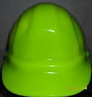 Casco fluorescente Verde IGA