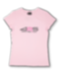 T shirt light pink women
