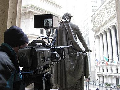 NYSE with George Washington