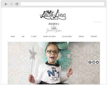리틀 리사 스마일 공식 홈페이지