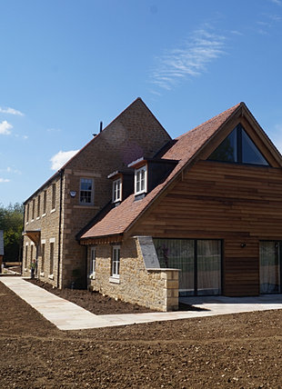 new build cotswold stone home build home cotswold