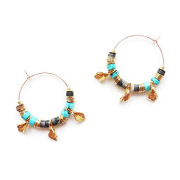 "Elise Tsikis: ""FALLIA"" - BOUCLES D\'OREILLES / EARRING 