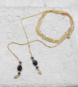 "Elise Tsikis: SAUTOIR / LONG NECKLACE ""DRAGAN"" 