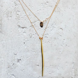 "Elise Tsikis: ""DANE"" - SAUTOIR / LONG NECKLACE 