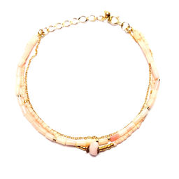 "Elise Tsikis: BRACELET ""DUNE"" corail | Jewelry,Jewelry > Bracelets -  Hiphunters Shop"