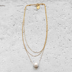 """Elise Tsikis: SAUTOIR / LONG NECKLACE """"DELEA"""" 