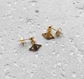 "Elise Tsikis: ""CHIOS"" - BOUCLES D\'OREILLES / EARRING 