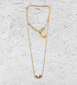 """Elise Tsikis: COLLIER / NECKLACE """"ALINA"""" 
