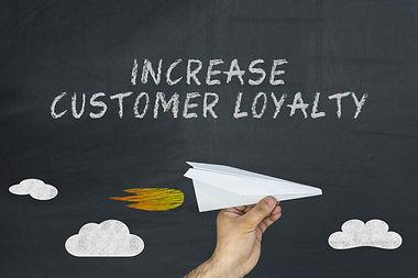 Increase customer loyalty concept on bla
