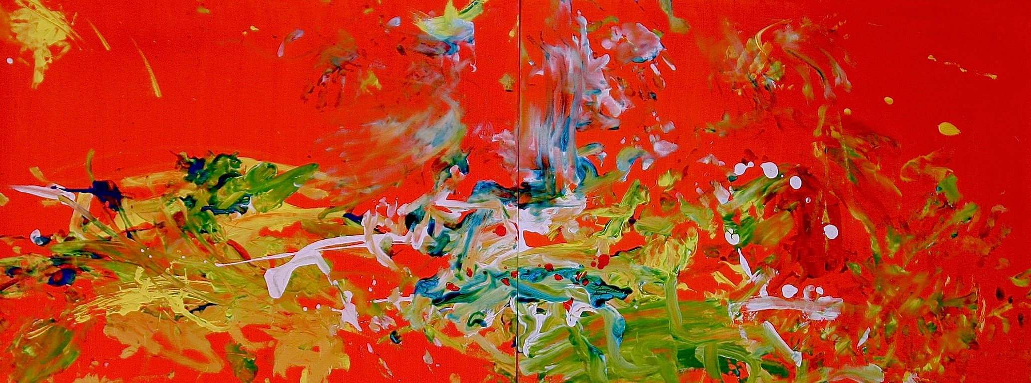 Aelita Andre Art Abstract Expressionist Painter Prodigy 2008