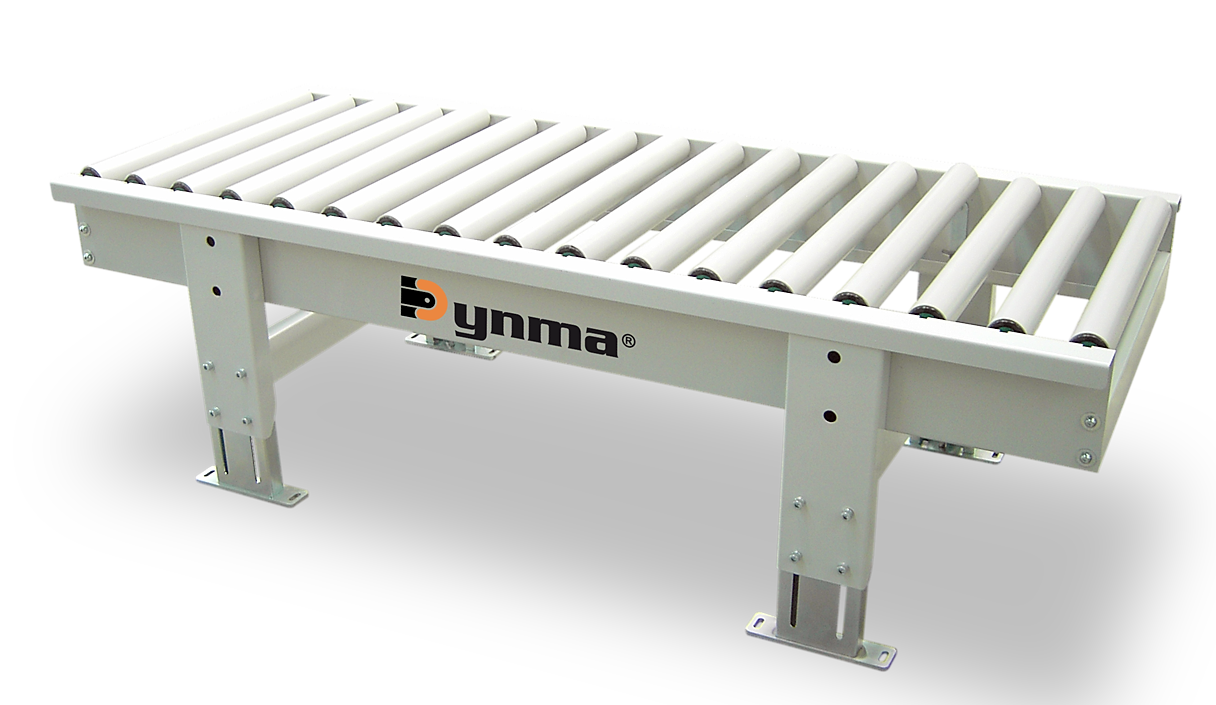Dynma presses for furniture drawers frames doors Motorized conveyor belt