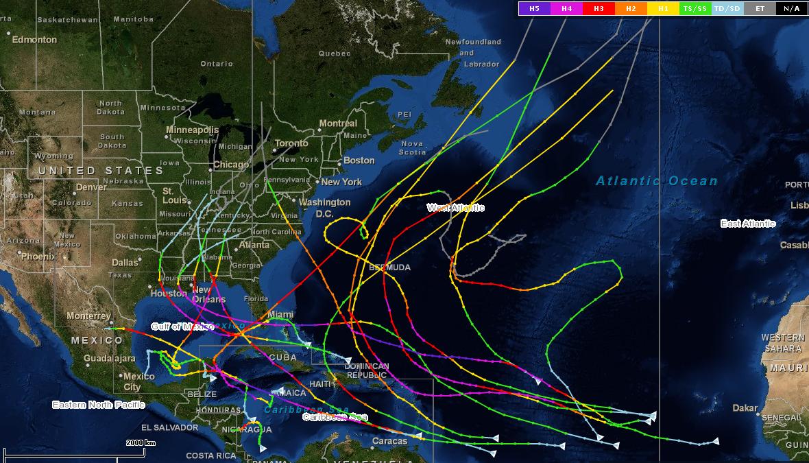 El Niño Grows Up Humanimpactsinstitute - El nino weather map usa