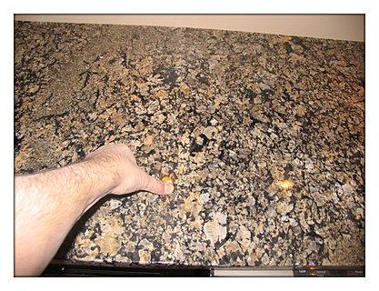 Pegasus Granite Countertop Seam