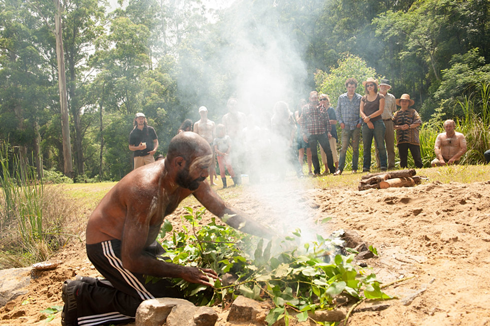 aboriginal smoking ceremony welcome to country
