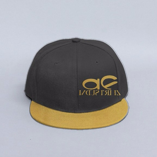 4fe8e66c873 AF INDUSTRIEZ CUSTOM GOLD SNAPBACK HAT