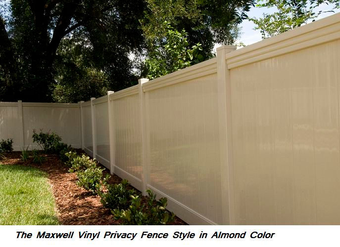 Brown Vinyl Privacy Fence fences for sale clearwater,tampa,st pete,palm harbor,oldsmar