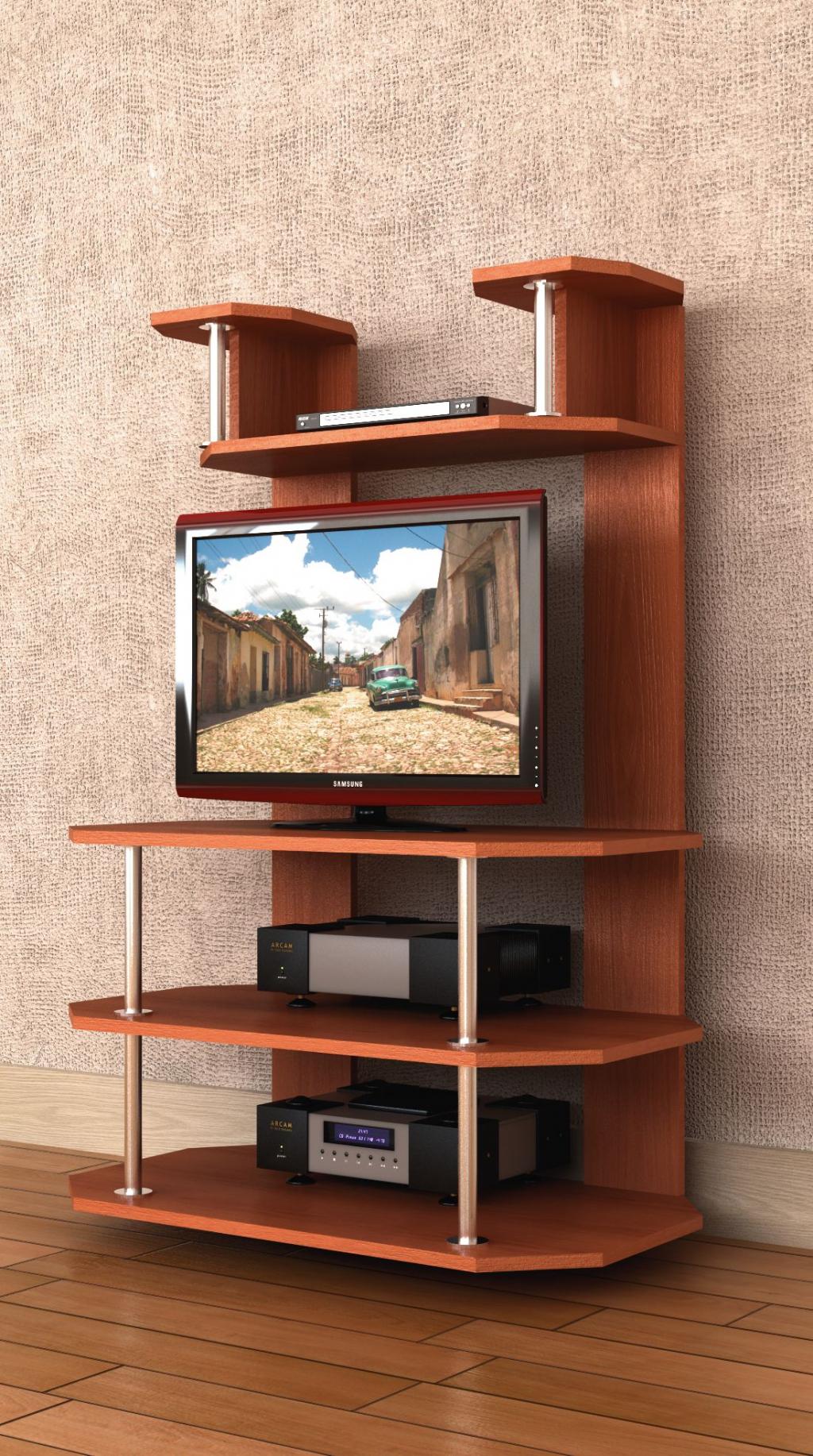 Подставка под телевизор напольная своими руками фото чертежи