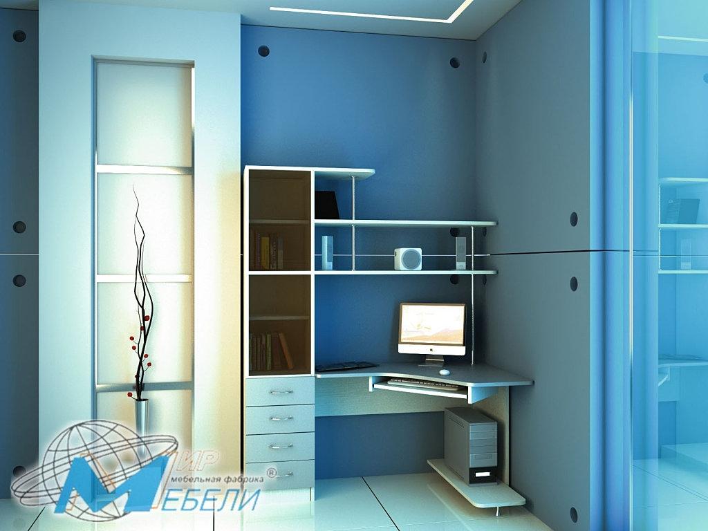 Компьютерный стол ск-30 (с проф) мм-мебель электросталь мебе.