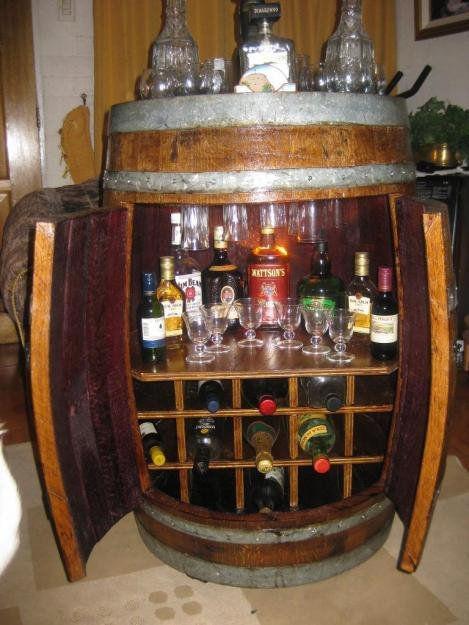 Ilsltdaartehechoamano created by margarita falquez for Barriles de madera bar