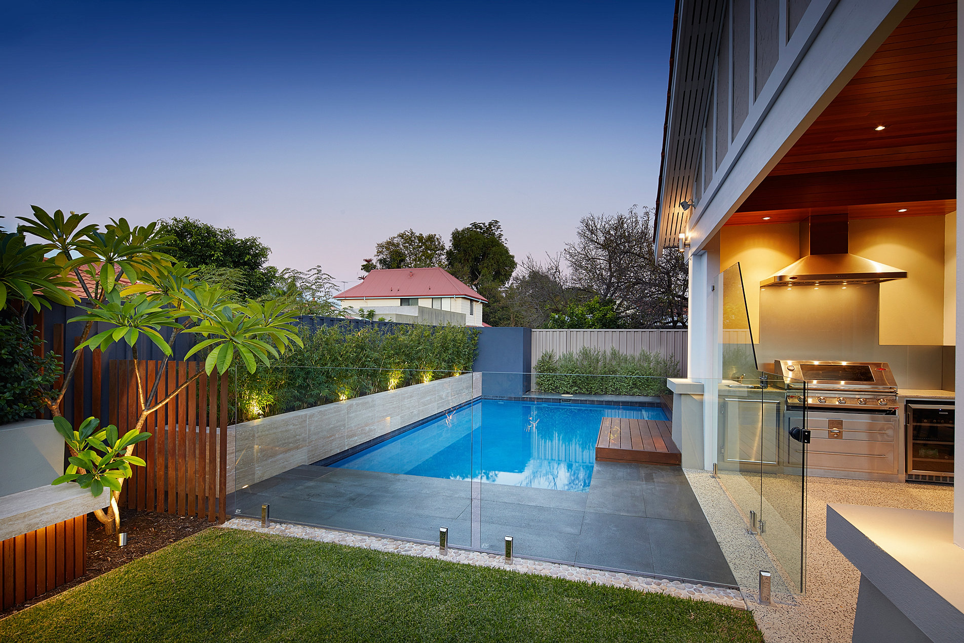 Principal pools landscapes lanscape design perth for Swimming pool landscaping ideas