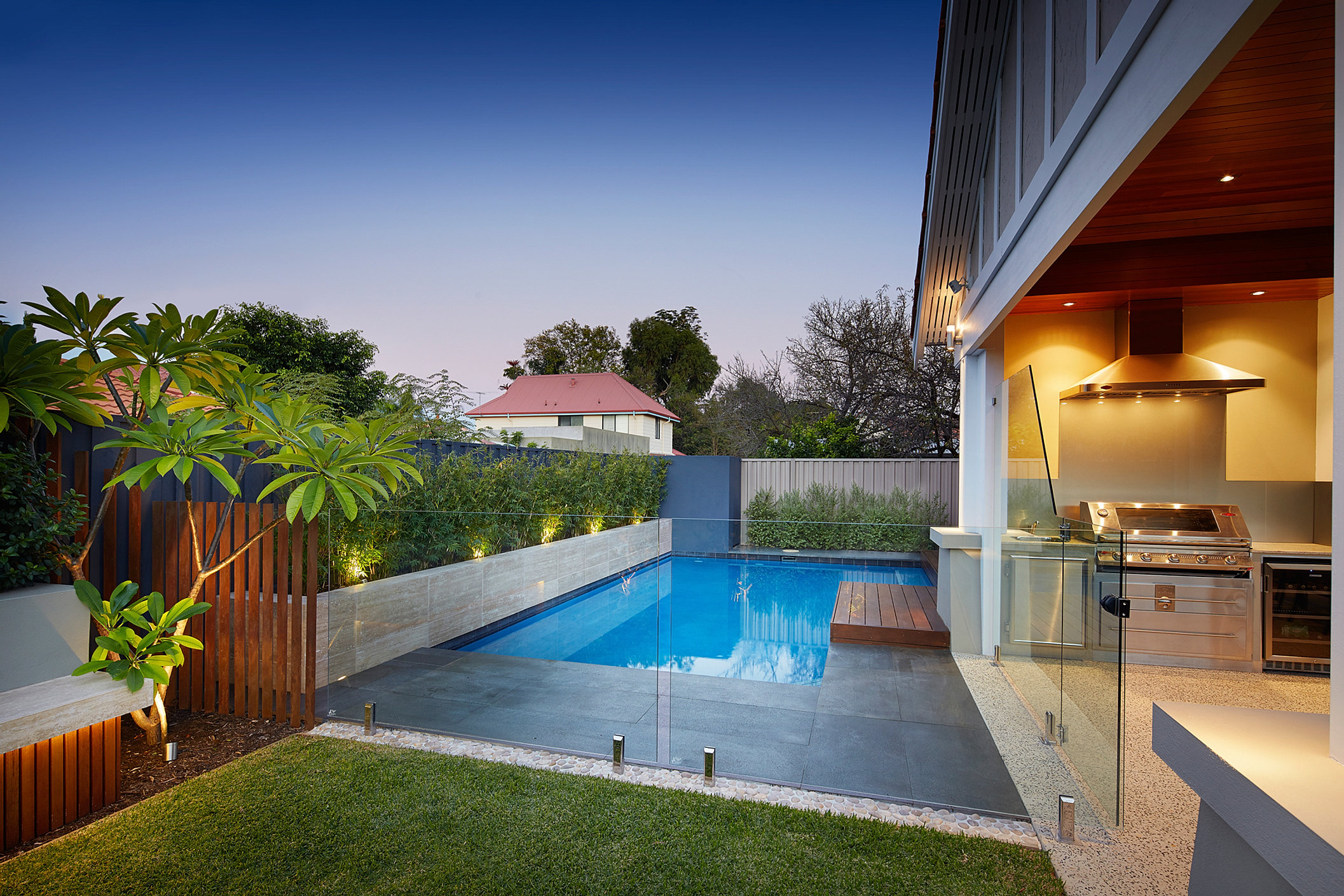 Principal pools landscapes lanscape design perth for Pool landscaping ideas