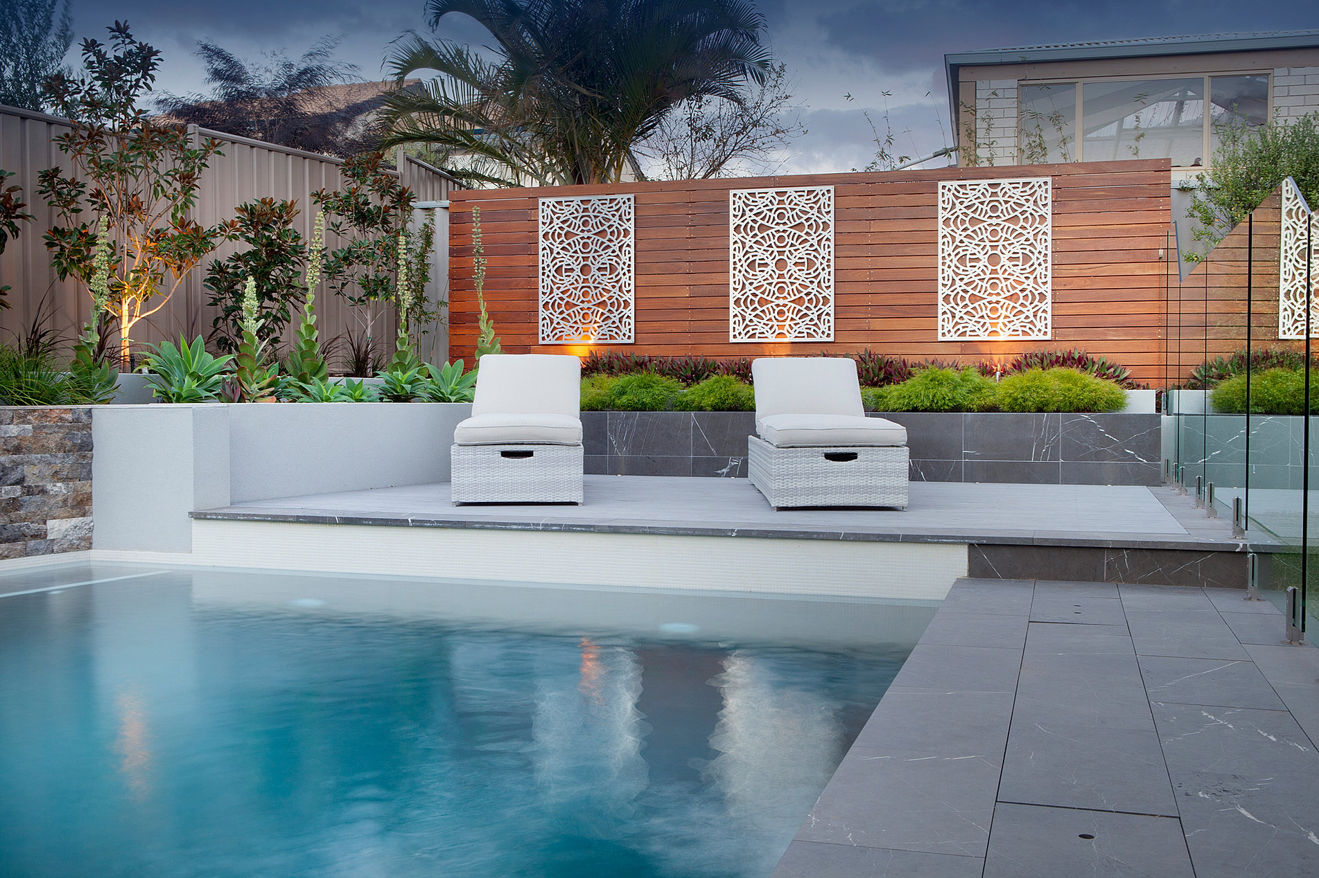 Custom Pool Design Perth Fiberglass Principal Pools Landscapes